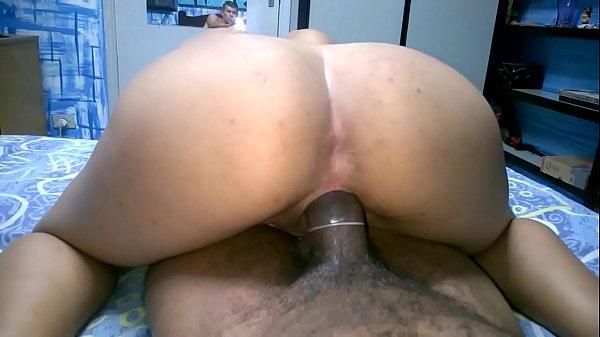Caseiro sexo esposa safada sentando na piroca grossa