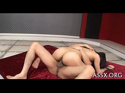 Sexo com grávida de buceta peluda dando cu